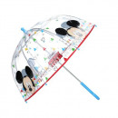 Großhandel Regenschirme: Mickey Regenschirm transparent