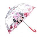 Großhandel Regenschirme: Minnie Regenschirm transparent