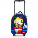Mickey 3D trolley rucksack