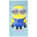 wholesale Towels: Minions velour beach towel