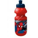 Spiderman botella de plástico
