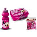 Minnie Plastikflasche mit lunch box