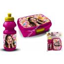Soy Luna Plastikflasche mit lunch box