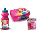 Princess plastic bottle with lunchbox