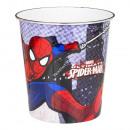 Spiderman cubo de la basura