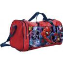 Spiderman gym bag red