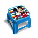 Mickey Sgabello in plastica con immagine stampata