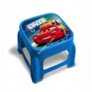 Cars Disney Sgabello in plastica con immagine stam