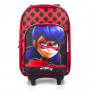 Miraculous Ladybug trolley backpack Red