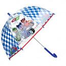 Großhandel Regenschirme: PJ Masks Regenschirm transparent