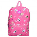 44 Cats backpack Pinkl 33 cm