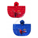 Spiderman Rain Poncho Red /Blue