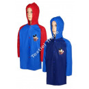 Mickey Mouse raincoat 2 colors of blue