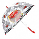 wholesale Licensed Products: Cars Disney transparent umbrella red
