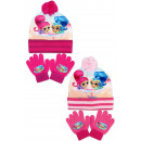 Shimmer and Shine hats and gloves