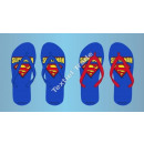 Superman toe slippers