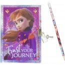 frozen 2 Disney napló ceruzával