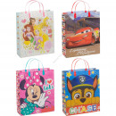 Disney gift bag medium 4 assorti 32 cm