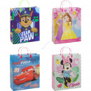 Disney gift bag large 4 assorti 39 cm