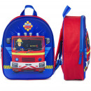nagyker Licenc termékek:Fireman Sam 3D hátizsák