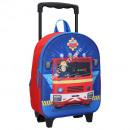 Fireman Sam 3D trolley zaini 31 cm