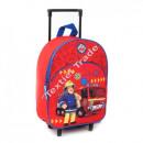Fireman Sam - Feuerwehrmann Sam trolley rucksack