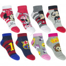 wholesale Licensed Products: 2 pack sneaker socks mix 1
