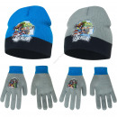 Avengers hats and gloves