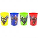 Avengers un conjunto de 4 vasos de plástico