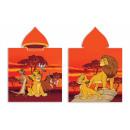 grossiste Vetement et accessoires: Lion King Cape de bain capuche velours.