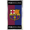 F.C. Barcelona velour beach towel