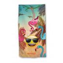 Emoji Beach towel Smile