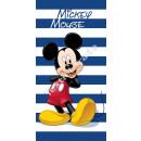 grossiste Articles sous Licence: Mickey serviette de plage microfibre