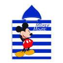 Mickey Mouse Hooded poncho Stripes