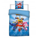 Super Wings duvet cover Team
