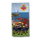 grossiste Serviettes de bain & Essuie: Fireman Sam serviette de plage microfibre