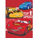 Cars Disney fleece blanket Top speed