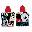 Mickey Mouse Hooded poncho velour BIG M