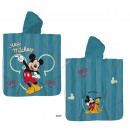 Mickey Mouse Hooded poncho velour Best friends eve