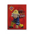 Fireman Sam coperta in pile