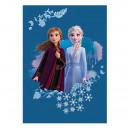 Frozen 2 Disney fleece blanket Blue Sisters