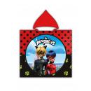 wholesale Coats & Jackets: Miraculous Ladybug Hooded poncho velour with Cat N