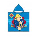 wholesale Coats & Jackets: Fireman Sam Hooded poncho Blue