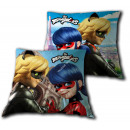 Miraculous Ladybug Pillow 2-sided & Cat Noir