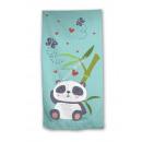Beach towel Panda bamboo