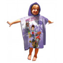 Paw Patrol Hooded poncho velour Purple