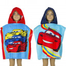 Cars Badeponcho velours