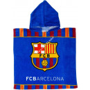 wholesale Scarves, Hats & Gloves: F.C. Barcelona Hooded poncho velour