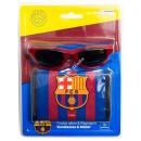 F.C. Barcelona portafoglio + occhiali da solle