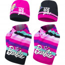 Barbie hat and scarf